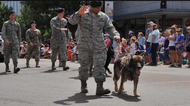 Malmstrom Air Force Base remembers K-9 Aslan