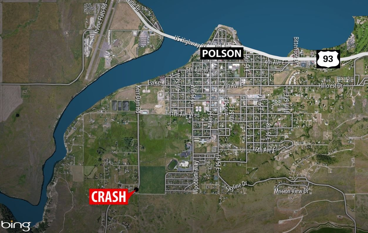 Polson Man Killed in Single-Vehicle Crash