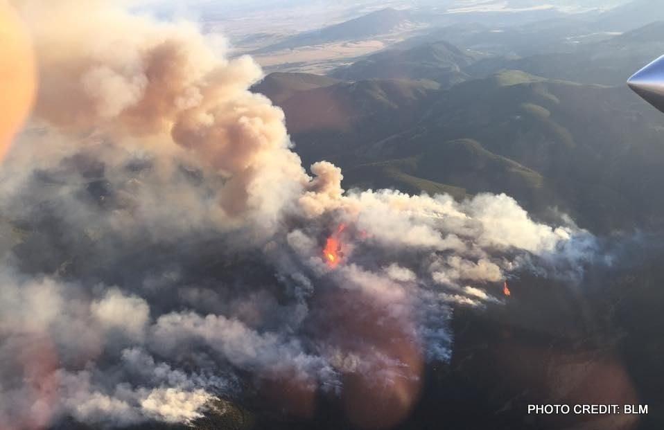 July Fire grows to 1600+ acres near Zortman