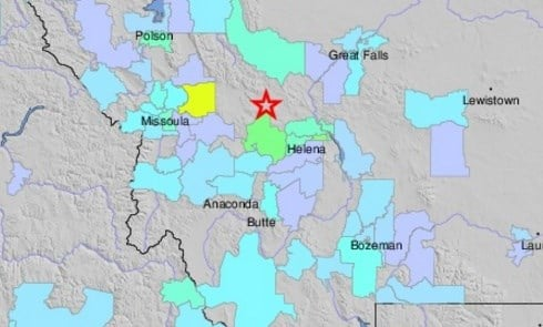 5.8 magnitude quake  in Montana reaches Elk Valley