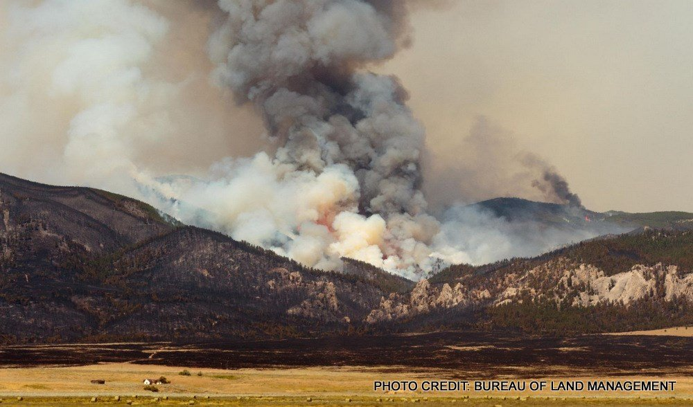 July Fire in Phillips County