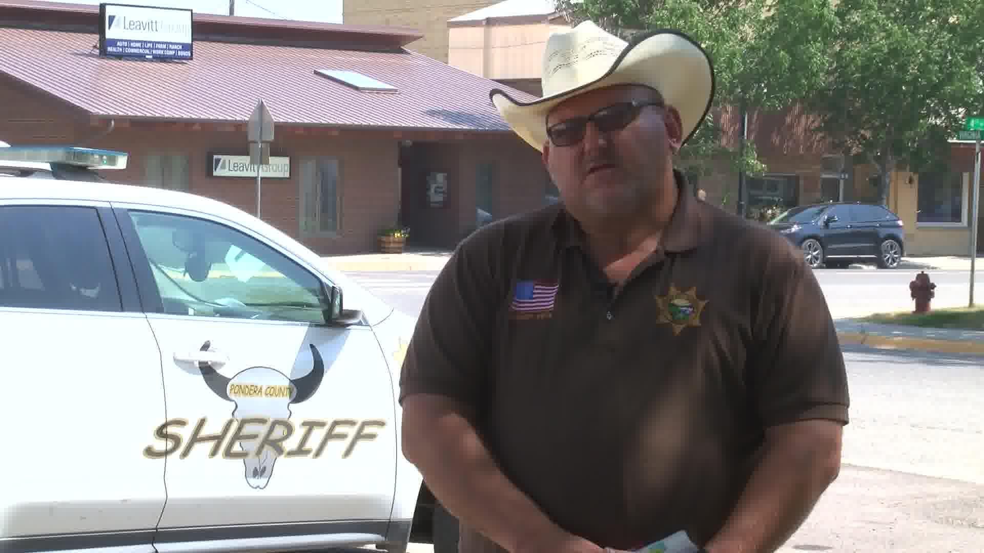 Pondera County Sheriff Carl Suta