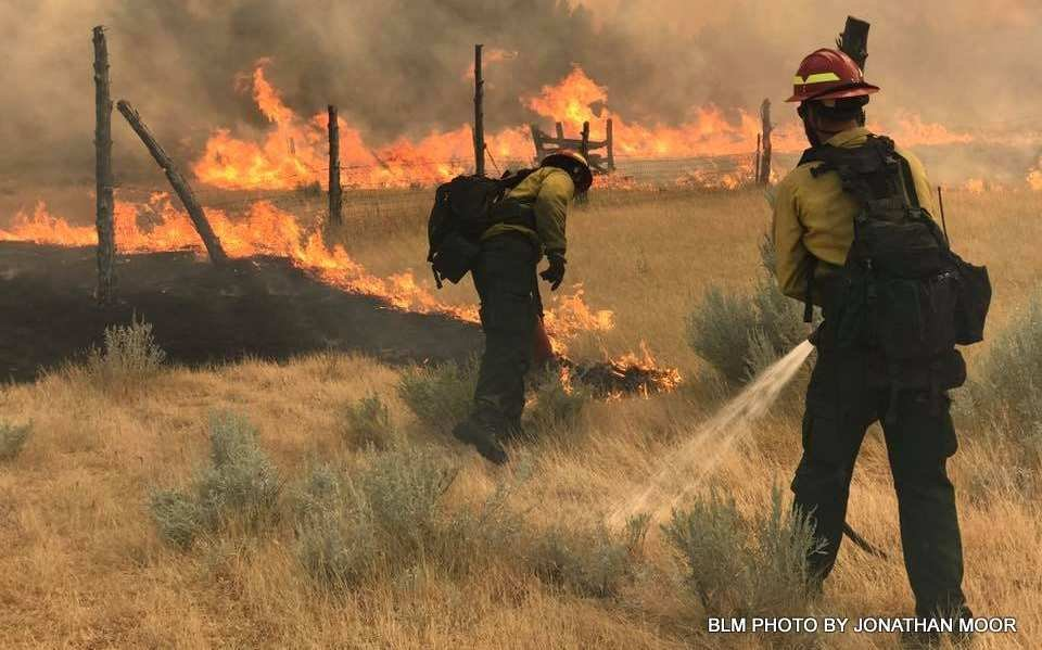 Lodgepole Complex Fire