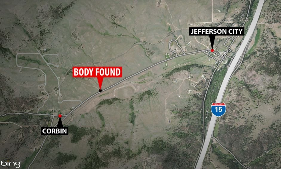 A woman's body was found on Sunday near Jefferson City