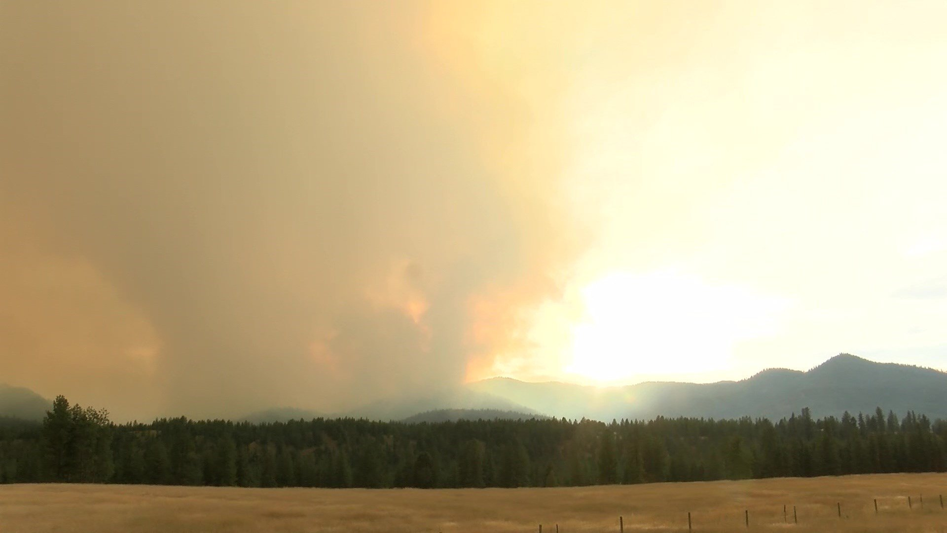 The Sunrise fire, which is 11miles southeast of Superior, has scorched more than 2,700 acres as of Wednesday