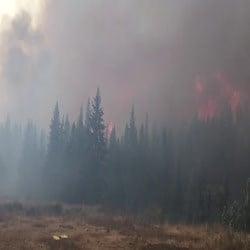 Crucifixion Creek Fire (Photo via Inciweb)