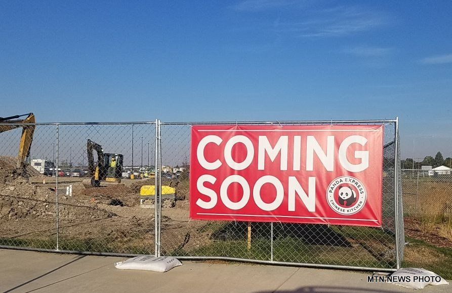 Plans for the 2,587 square foot Panda Express include seating for 66 people, an outdoor patio, and a drive-through.