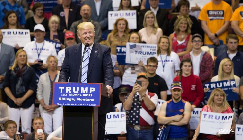 Trump visited Billings last year during the Presidential campaign.