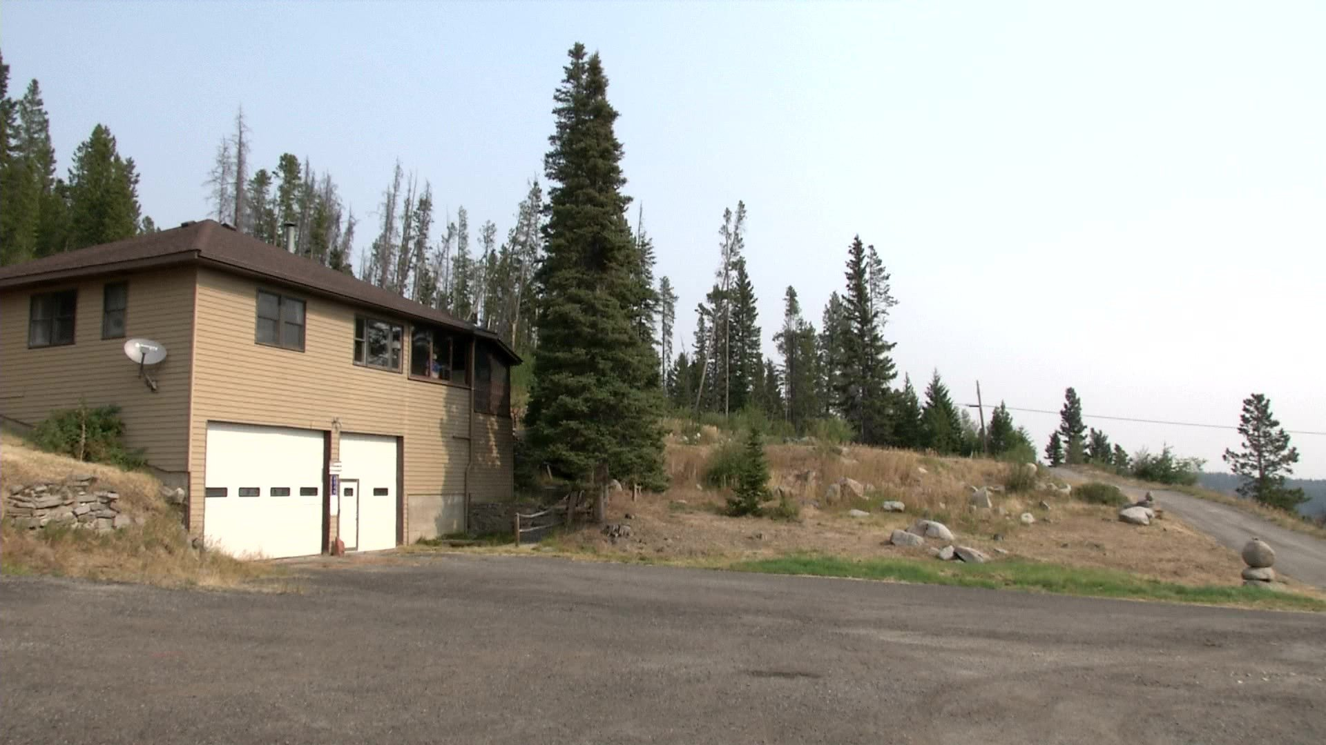 There's a brown house that sits at the top of MacDonald Pass and serves an important purpose.