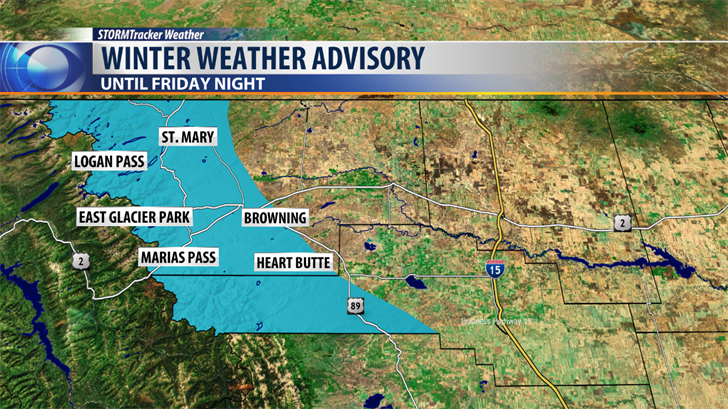 Winter weather expected at pass elevations