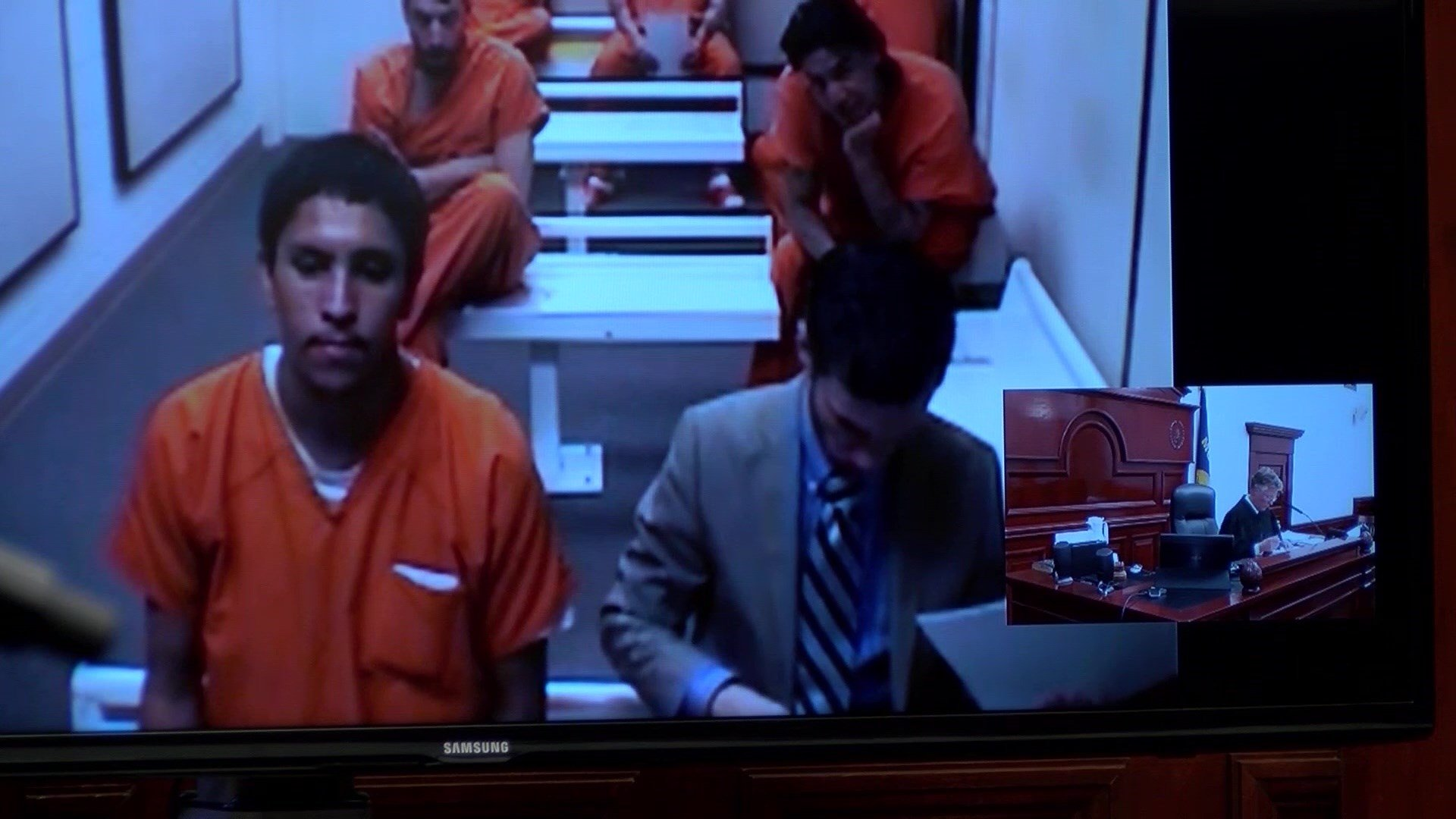 Bengamin Ray Yellowowl during his initial court appearance on January 26th