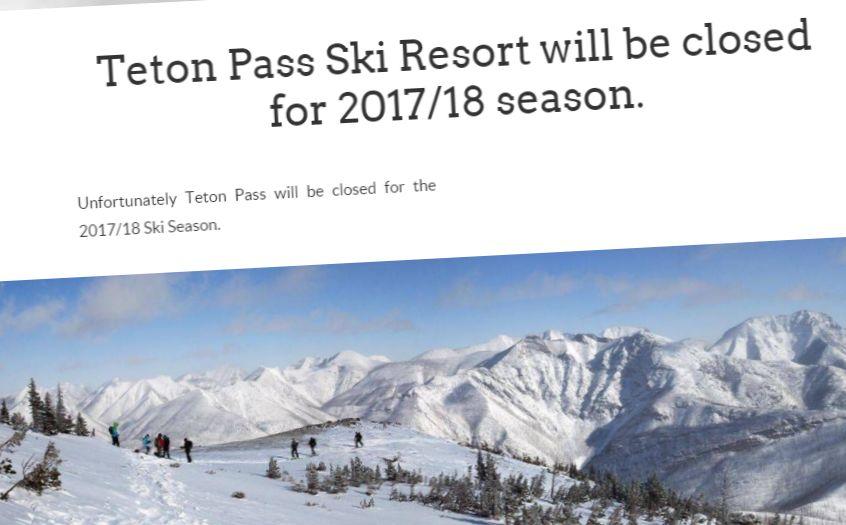 Teton Pass Ski Area website
