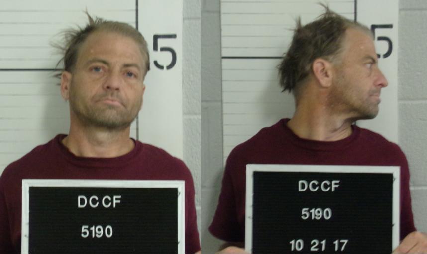 Todd Fisher (Dawson County jail booking photo)