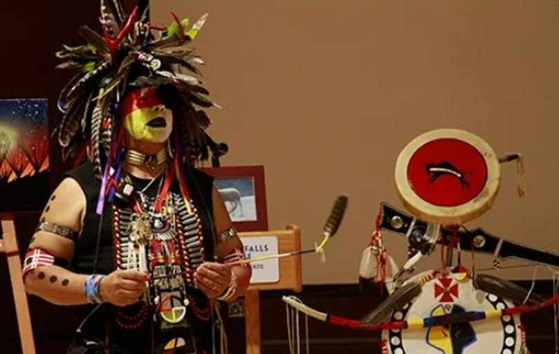 Native American Heritage Month demonstration at GFC MSU in 2015