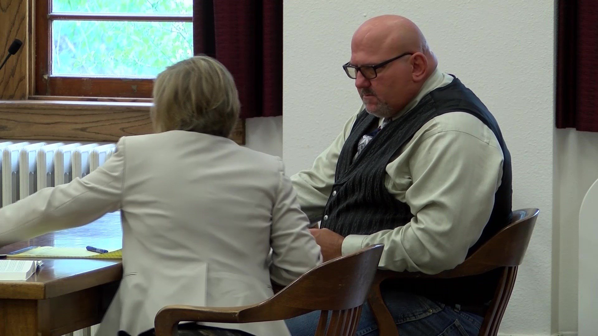 Pondera County Sheriff Carl Suta (MTN News archive photo of earlier court appearance)