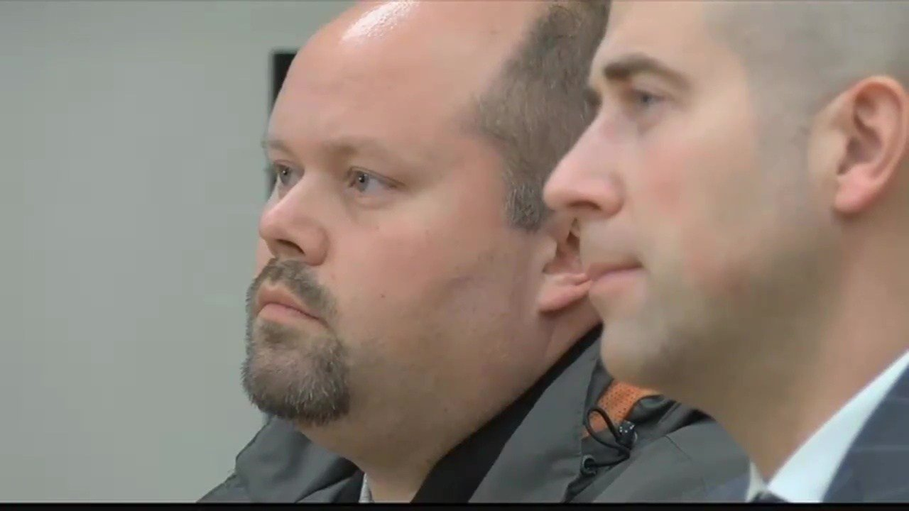 Troy Bashor in court