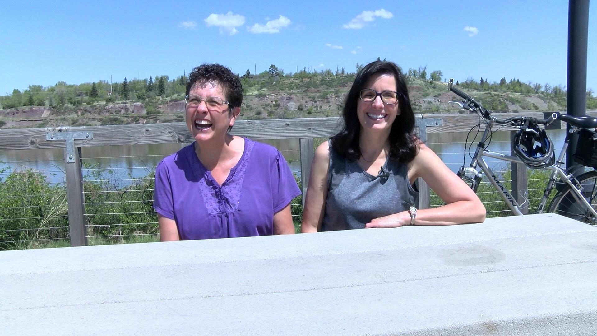 Nancy Ocheltree and Kitty Bergan call themselves the Montana Grannies
