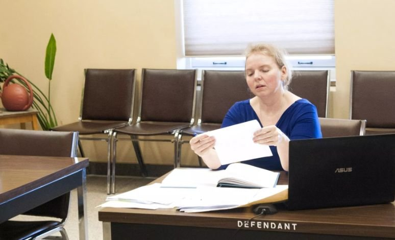 Former Hill County Attorney Jessica Cole-Hodgkinson (Photo by Paul Dragu/Havre Herald)