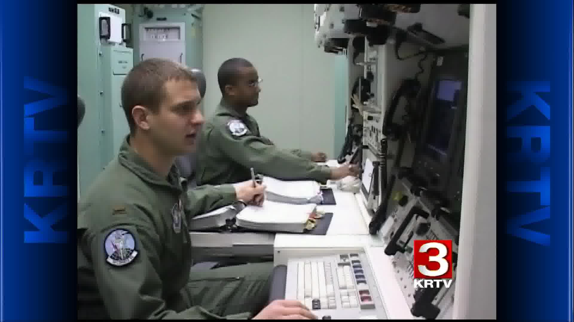Malmstrom missile officers on duty
