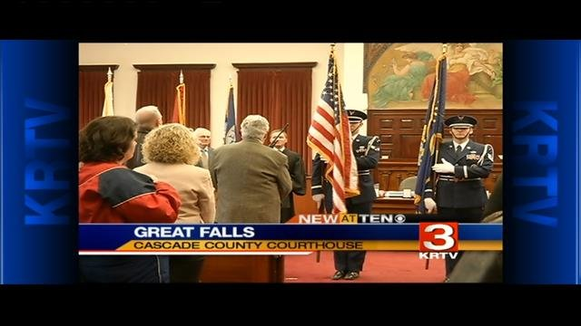 Veterans Treatment Court celebrates graduation in Great Falls (March 3, 2015)