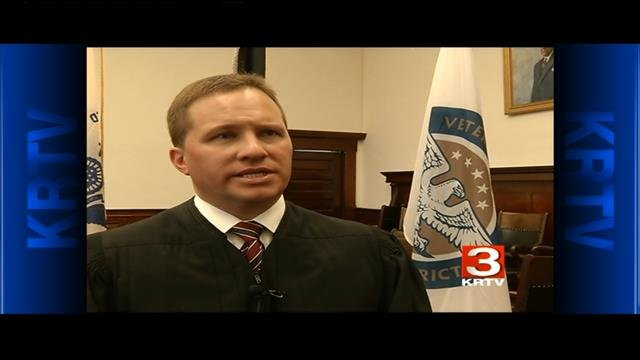 Judge Greg Pinski of the Eighth Judicial District Veterans Treatment Court