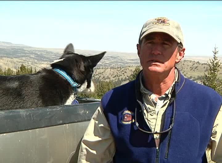 Mike Madel of Montana Fish, Wildlife & Parks (MTN News photo)