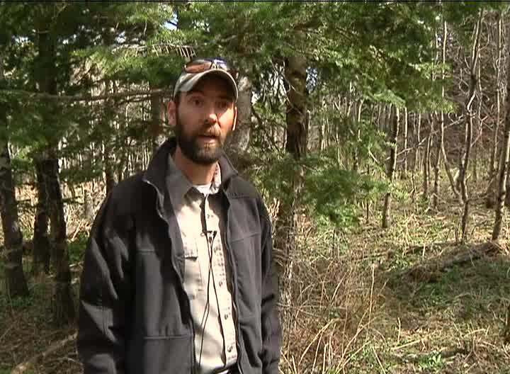 Seth Thompson of Montana Fish, Wildlife & Parks (MTN News photo)