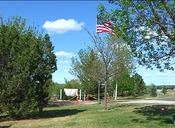 The memorial is at Overlook Park in Great Falls (MTN News photo)