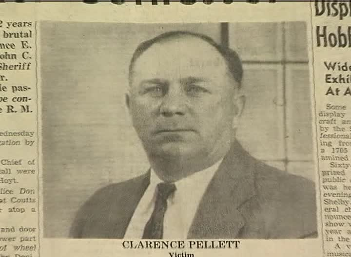 Clarence Pellett was killed by Dryman in 1951