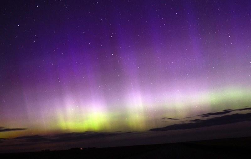 Northern Lights photo from Vikki Higginbotham