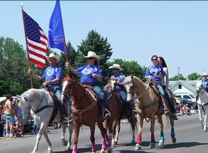 Independence Day parade (Photo: Margaret DeMarco-KRTV)