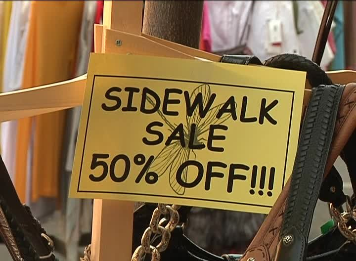 The streets of downtown Great Falls will serve as store shelves on Saturday during the Sidewalk Sale.