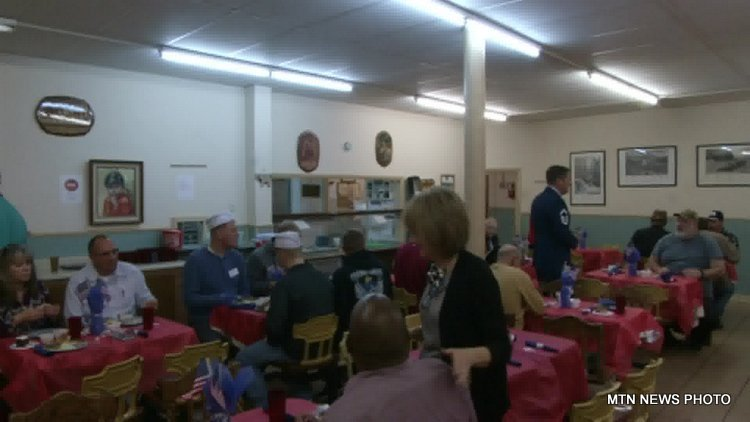 Great Falls Rescue Mission hosted its annual veterans luncheon.