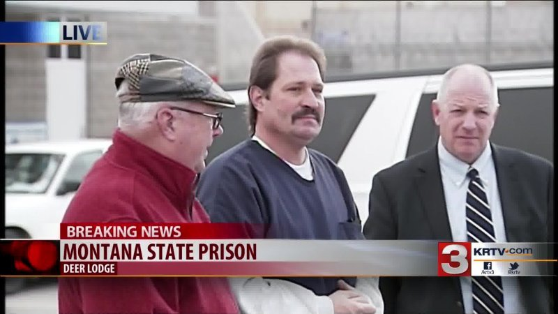 Barry Beach released from the Montana State Prison on Friday, November 20, 2015 (MTN News file photo)