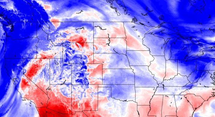 Their model takes into account high or low clouds, moisture, pressure and up to 20 other conditions by analyzing 14 gigabytes of data from NOAA (Image from SunsetWX website)