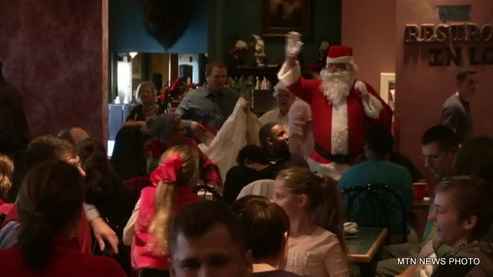 Cattlemen's Cut restaurant west of Great Falls served a Christmas day dinner to people from Malmstrom Air Force Base