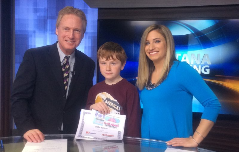 Dillon Kjelsrud was our Weather Rookie on Wednesday morning.