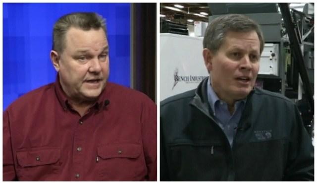 Senators Jon Tester and Steve Daines (MTN News photos)
