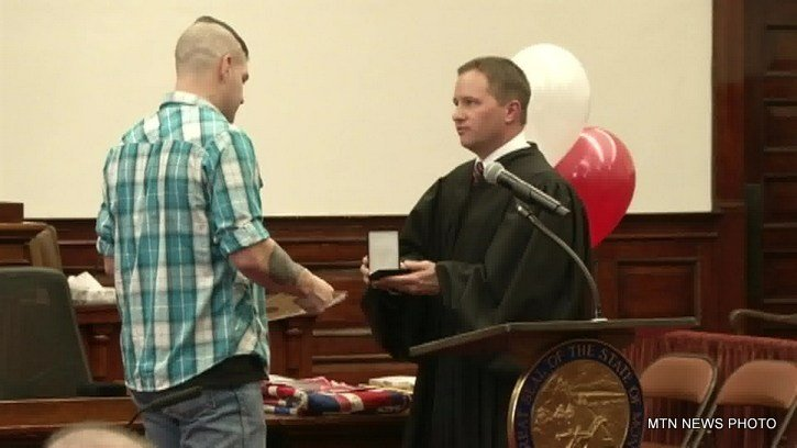Three veterans graduated on Tuesday from the 8th Judicial District Veterans Treatment Court in Great Falls.