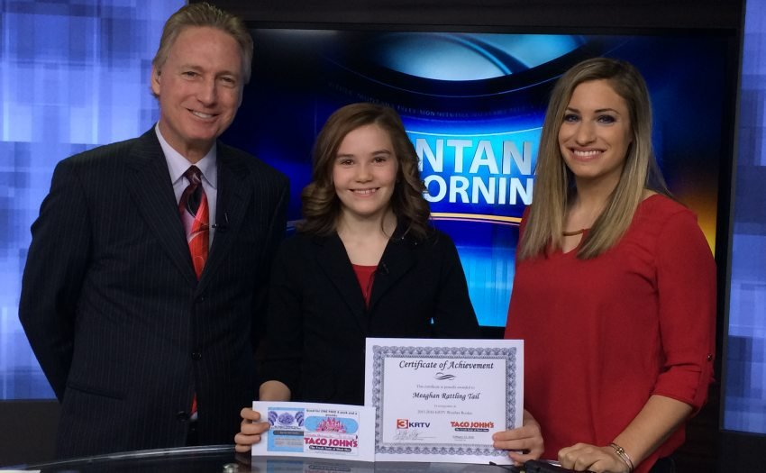 Weather Rookie: Meaghan Rattling Tail