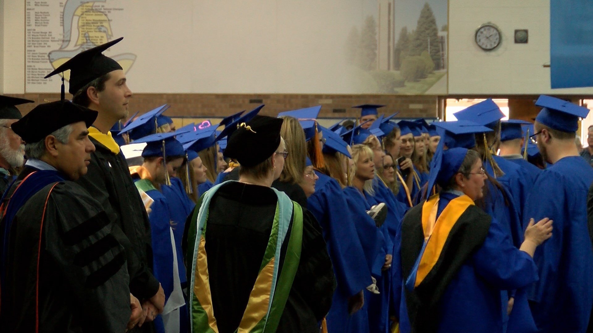 students graduate from university of great falls great falls co 2016 great falls college msu commencement ceremony at mclaughlin center located at the university of