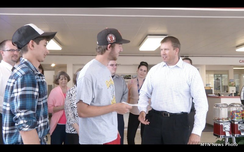 Project graduation receives donation from lithia motors for Lithia motors great falls mt