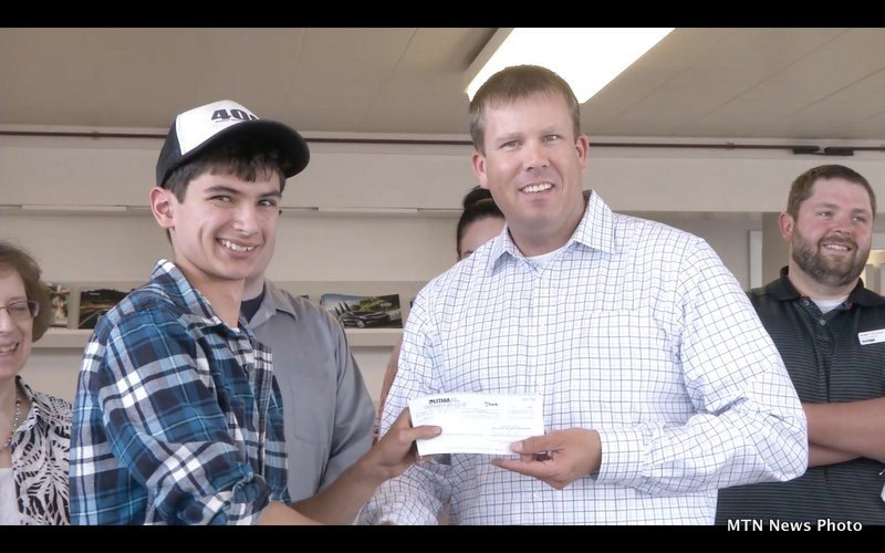 Project Graduation Receives Donation From Lithia Motors Krtv News In Great Falls Montana