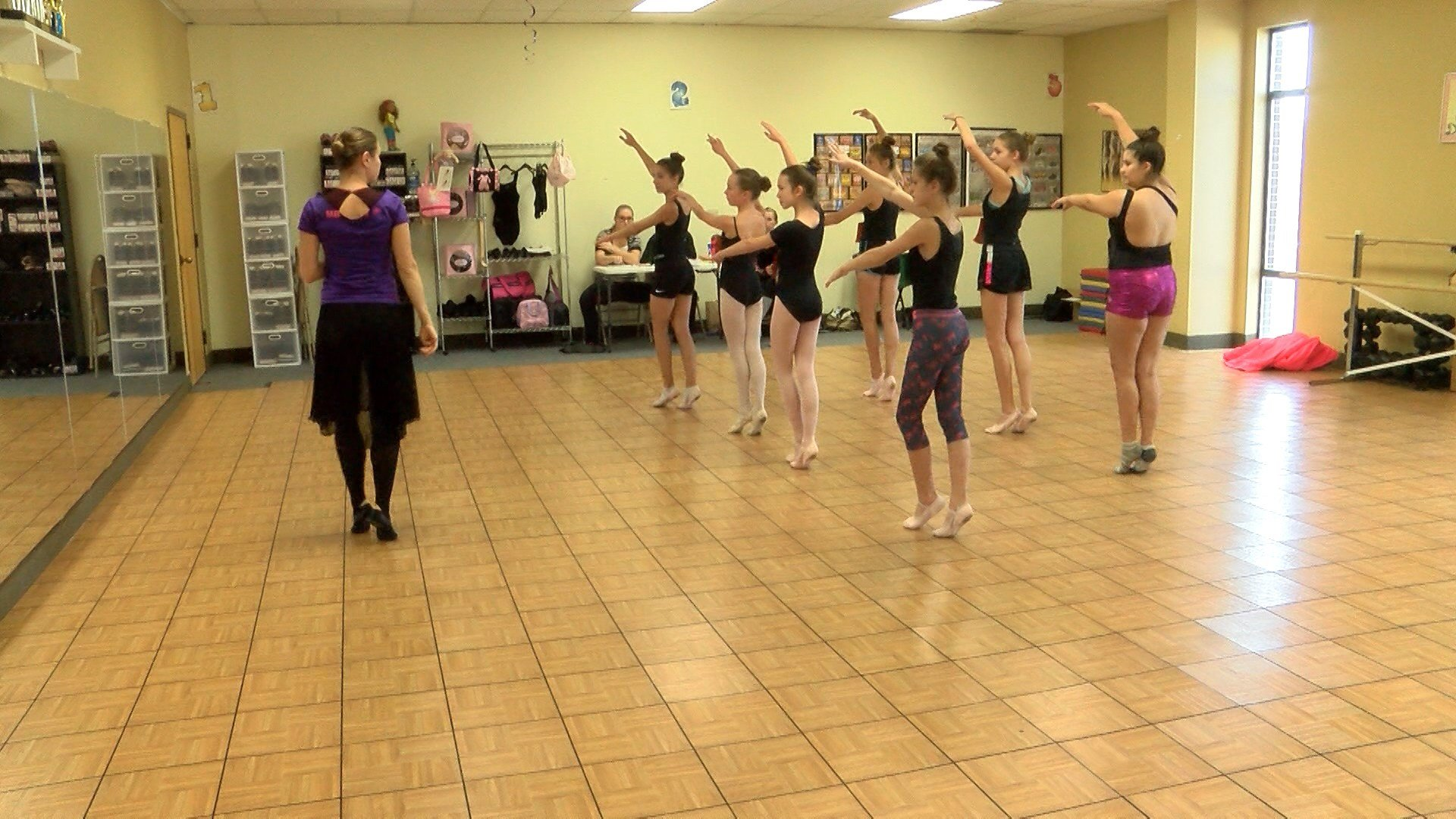 Superb Great Falls Entertainment Part - 4: Dancers From Great Falls Audition For The Nutcracker.