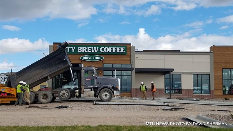 Signs are up for new city brew and best wok krtv news in for City motors great falls mt