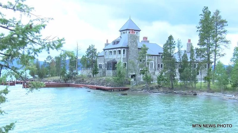 Shelter island montana 39 s most expensive home krtv news for Shelter island montana