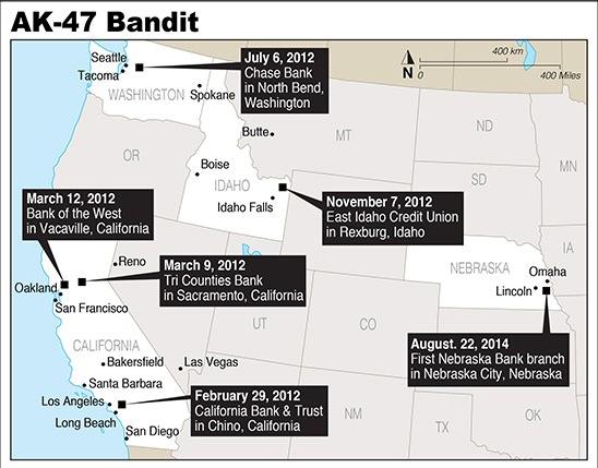 Fbi Confirms Montana Man Is The Ak 47 Bandit Calls Him Publi