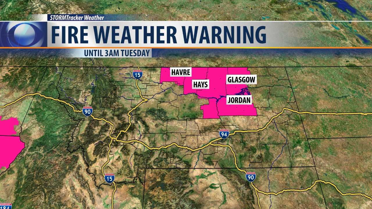 Montana blaine county hays - Fire Weather Warning In Effect Until 3am Tuesday