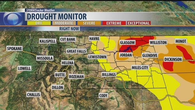 Governor Declares Drought Emergency In Eastern Montana KRTV News - Eastern montana map