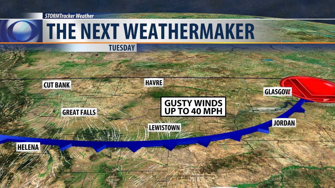 Weather KRTV News In Great Falls Montana - Us weather map next 5 days